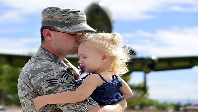 From military son to military father,